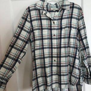 Madewell Flannel w/ Pockets!!